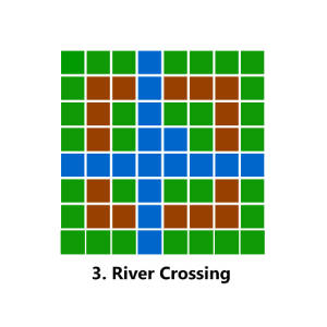 Map: River Crossing