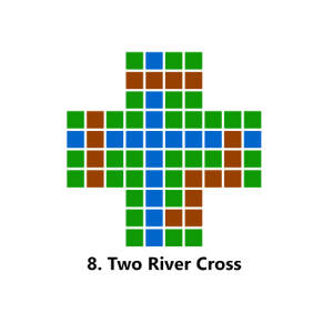 Map: Two River Cross